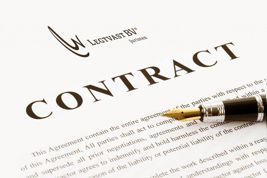 jurist contractenrecht legtvast BV juristen